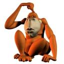 3D Ape