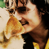 Orli with a dog